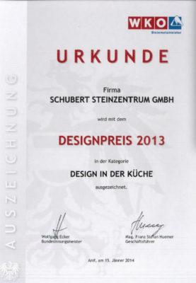 designpreis-kueche-urkunde