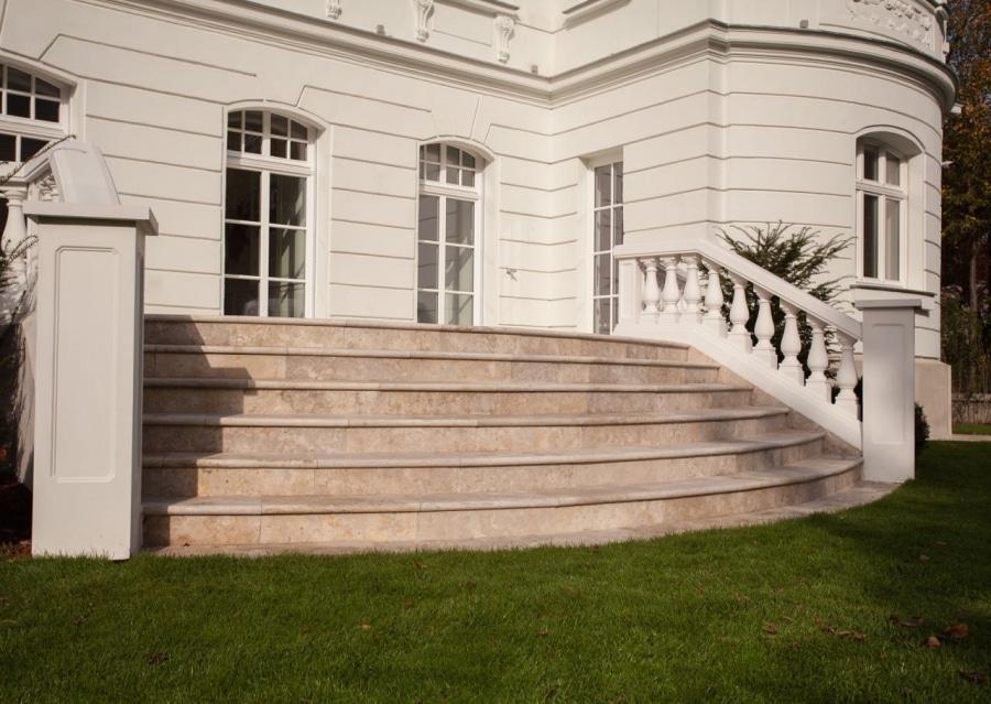 villa in wien schubert stone naturstein technostein. Black Bedroom Furniture Sets. Home Design Ideas