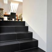 Schiefer Wohnbereich Treppen