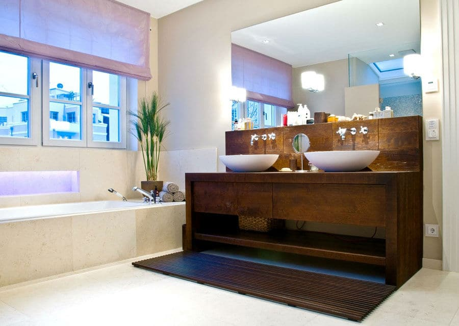 Badezimmer modern luxus neuesten design for Truhenbank modern