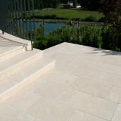 Terrassen Kalkstein Levante Crema
